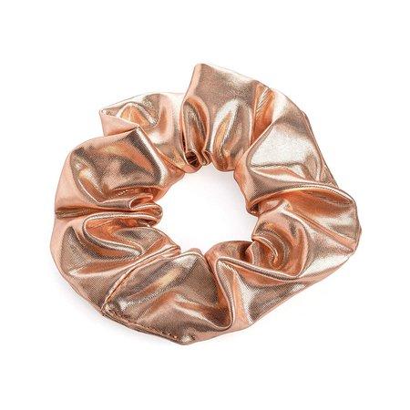 rose gold scrunchie
