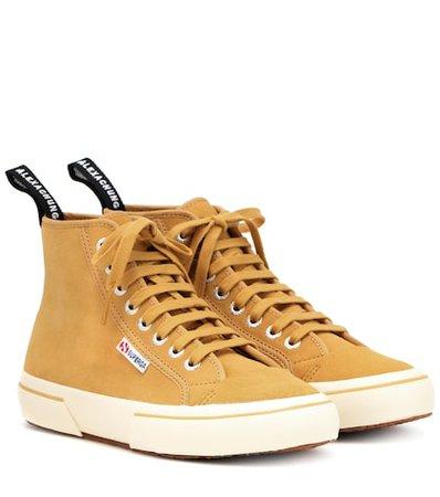 X SUPERGA® suede sneakers