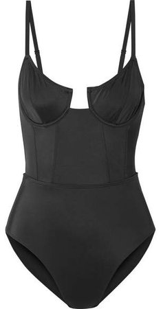The Veronica Underwired Swimsuit - Black