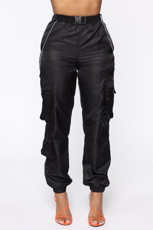 Swish Belted Cargo Joggers