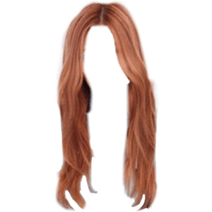 orange red brown blonde hair png idk