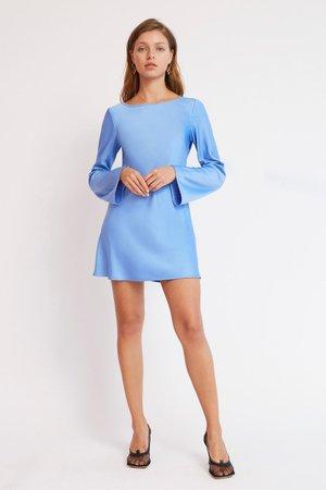 DELILAH MINI DRESS Blue