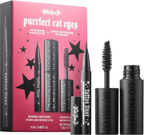 Kvd Vegan Beauty KVD Vegan Beauty - Kitten Mini: Purrfect Cat Eyes Mini Mascara & Eyeliner Set