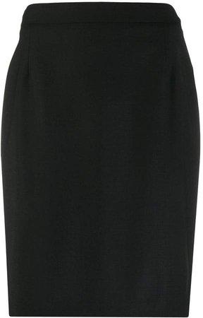 Slim-Fit Pencil Skirt
