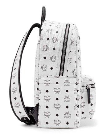 MCM Stark No Stud Medium Backpack | Neiman Marcus