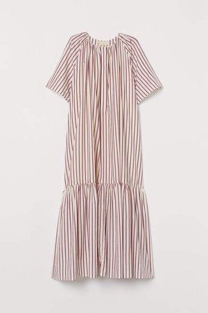 Silk-blend Dress - Pink
