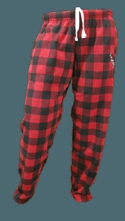 Red Plaid PJ Pants