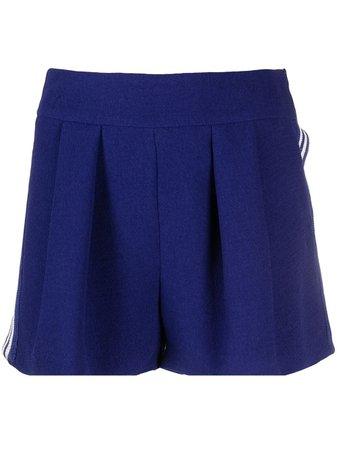 Missoni side-stripe pleated shorts