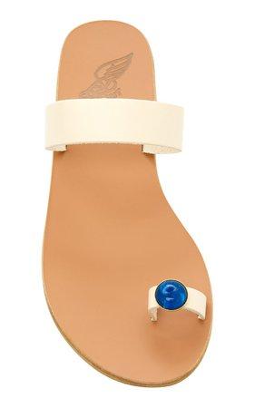 Thalia Gem Leather Sandals by Ancient Greek Sandals | Moda Operandi
