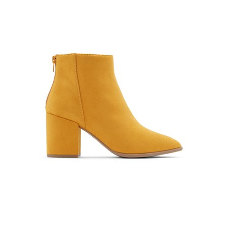 Julieanne Dark Yellow Women's Ankle Boots | Call It Spring US