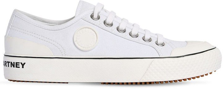 20mm Low Top Cotton Canvas Sneakers