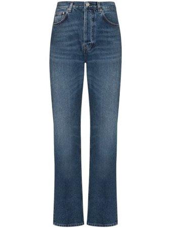 Totême high-waist straight-leg Jeans - Farfetch