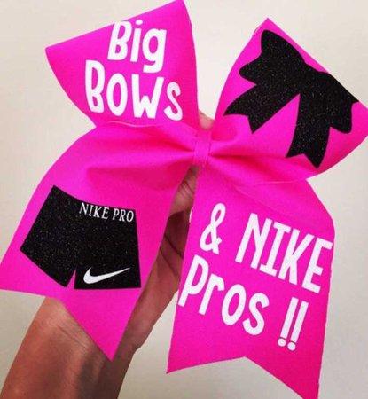 Cheer Bow Nike Pro