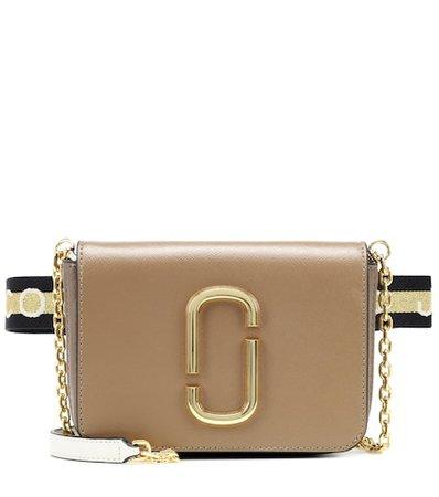 Hip Shot leather belt bag
