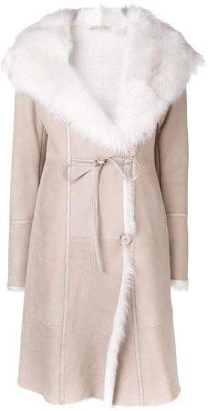 Liska long fur winter coat
