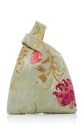 Mini Venetian Silk-Jacquard Shopper Tote by Hayward | Moda Operandi