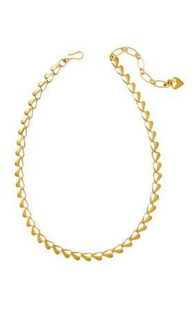 Eros 24k Gold-Plated Necklace By Brinker & Eliza | Moda Operandi