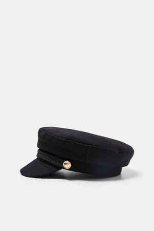 NAUTICAL CAP WITH BUTTONS - Hats | Headbands-ACCESSORIES-WOMAN | ZARA Latvia