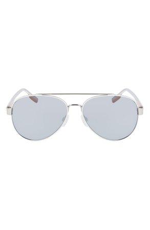 Converse Disrupt 58mm Aviator Sunglasses | Nordstrom