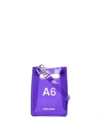 Nana-Nana A6 PVC mini bag - FARFETCH