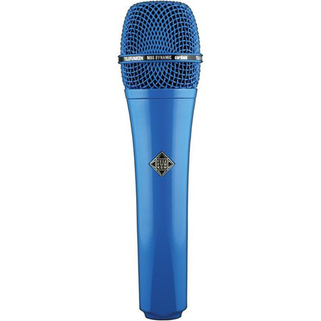 Microphone blue