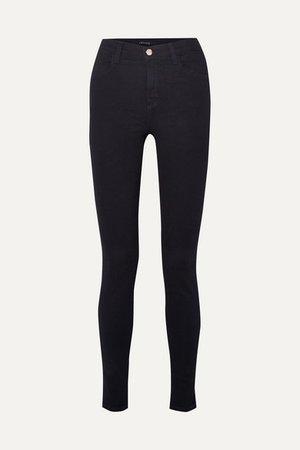 J Brand | Maria high-rise skinny jeans | NET-A-PORTER.COM