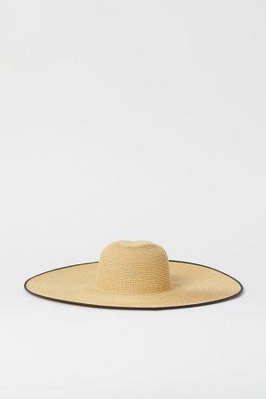 Straw Hat - Beige
