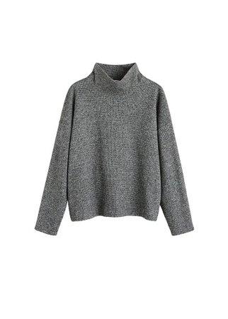 MANGO Funnel neck sweater