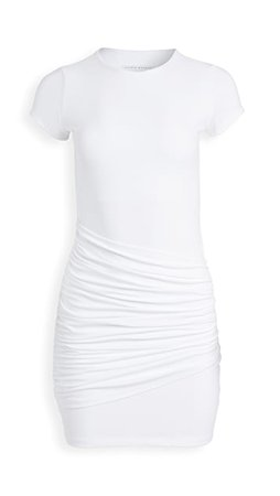 Susana Monaco Short Sleeve Gathered Overlay Dress | SHOPBOP