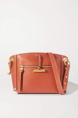Hoist Small Leather Shoulder Bag - Brown