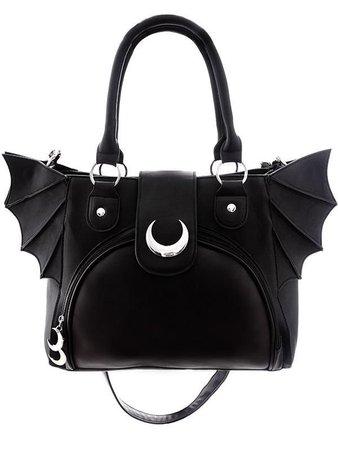 Ghoulish Girls Bat Wing Bag
