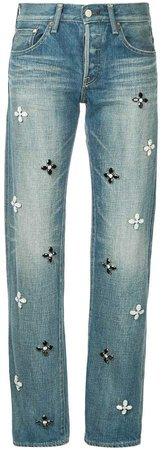 Tu Es Mon Trésor Bijoux flower jeans