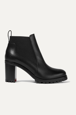Christian Louboutin | Marchacroche 70 leather ankle boots | NET-A-PORTER.COM