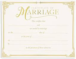 texas marriage certificate - Google Search