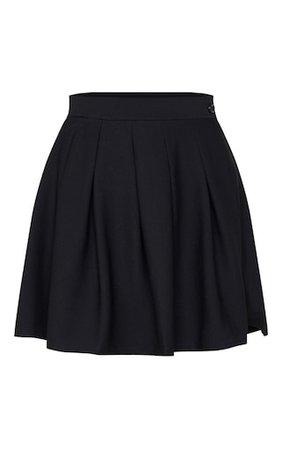 Black Pleated Tennis Skirt | Skirts | PrettyLittleThing