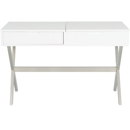 Clancy Desk Vanity with Mirror & Reviews | Joss & Main
