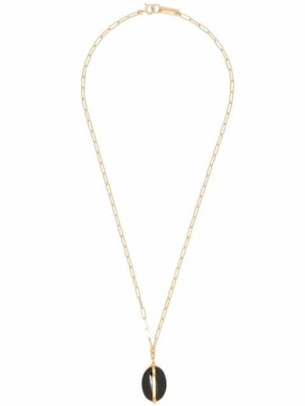 Isabel Marant stone-pendant Chain Necklace - Farfetch