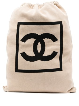 Chanel Pre-Owned 2003 CC Sport Line Backpack - Farfetch