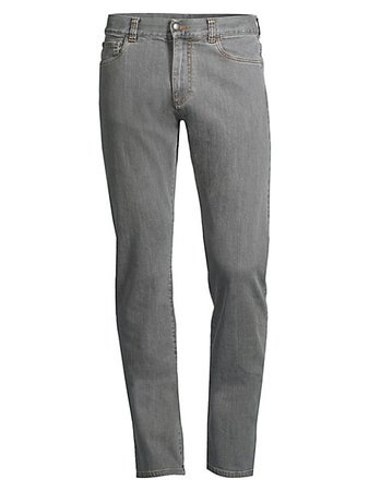 Canali Straight-Fit Jeans | SaksFifthAvenue