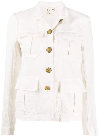 Button Down Military Jacket