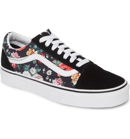 Vans UA Old Skool Lux Floral Sneaker (Women)   Nordstrom