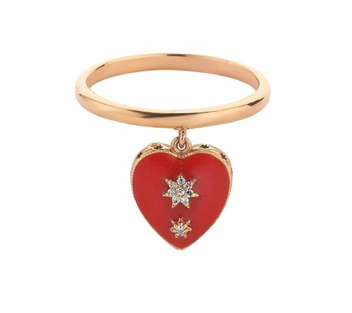 Queen of Hearts Ring | Rings | Products | BEE GODDESS