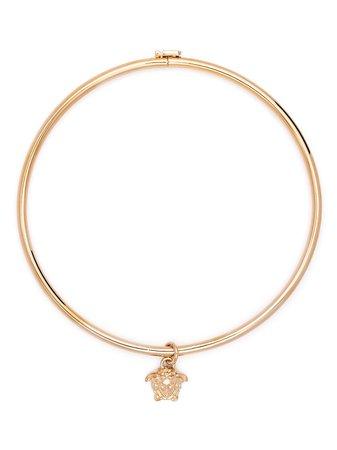 Versace Medusa Aeternitas Choker Necklace - Farfetch