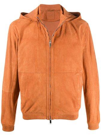 Desa 1972 Hooded Zipped Jacket K10947 Orange   Farfetch