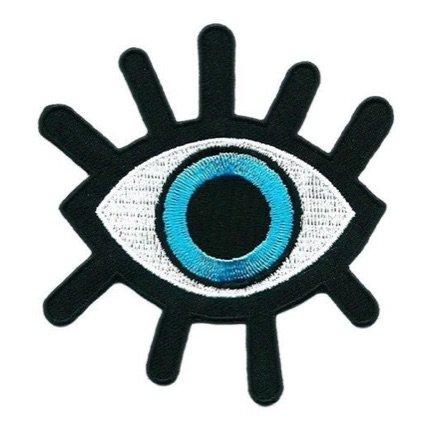 Blue Eye Patch