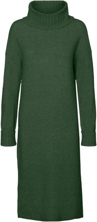 Gaiva Turtleneck Long Sleeve Sweater Dress