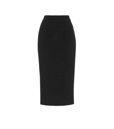Dolce & Gabbana - Wool-crêpe pencil skirt | Mytheresa