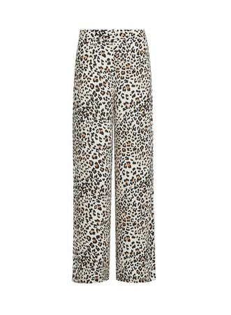 Multi Colour Leopard Print Palazzo Trousers | Dorothy Perkins
