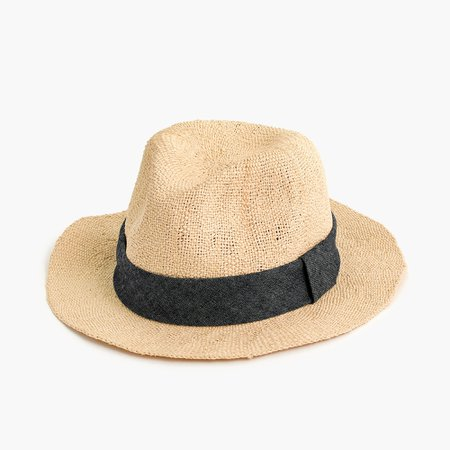 J.Crew: Packable Panama Hat For Men