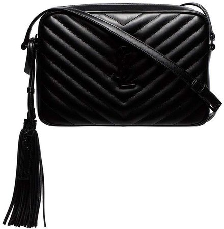 quilted leather cross body bag